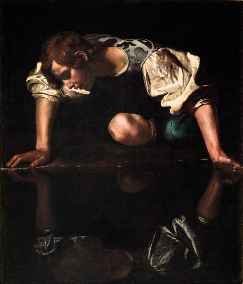 Rijksmuseum-Michelangel-Merisi-Caravaggio-Narcissus-Palazzo-Barberini