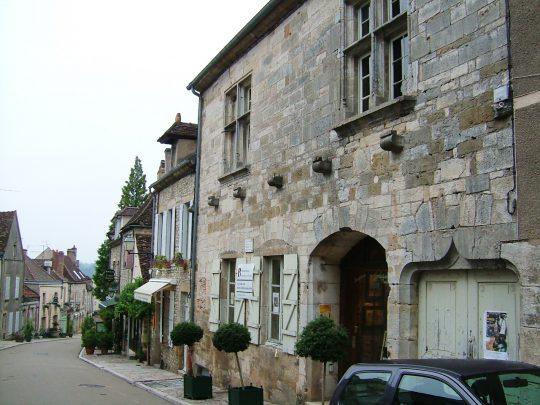 Vezelay, Bourgogne, Midt-Frankrike, Frankrike