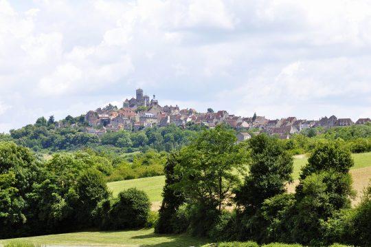La madeleine, Vezelay, Bourgogne, Midt-Frankrike, Frankrike