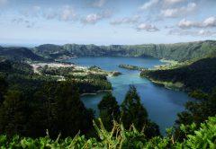 Azorene, Sao Miguel, Sete Cidades lagoon